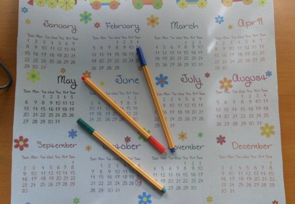 как определить день овуляции календарь