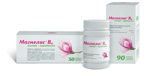 Препарат магнелис в6 при беременности