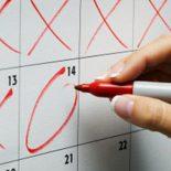 Как вычислить безопасные дни для беременности
