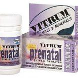 Здоровье женщины и витамины для беременных Витрум Пренатал